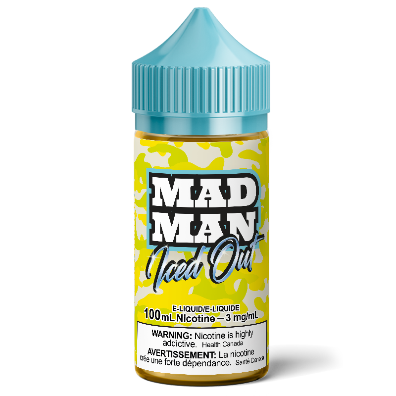 100ml MADMAN ICE Crazy Lemon