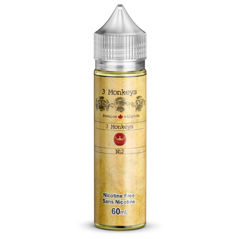 60ml 3MONKEYS No 12  XL