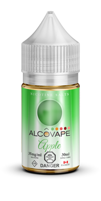 30ml SNV ALCOVAP SALT Apple
