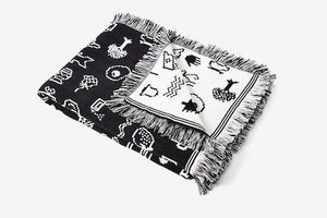 Areaware Cairo Throw designed by Susan Kare