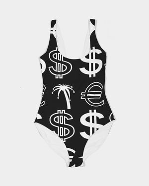 Duo Monogram Swimsuit