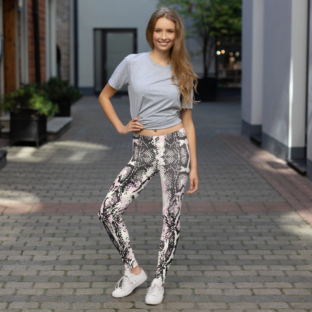 Lavish Snake Leggings