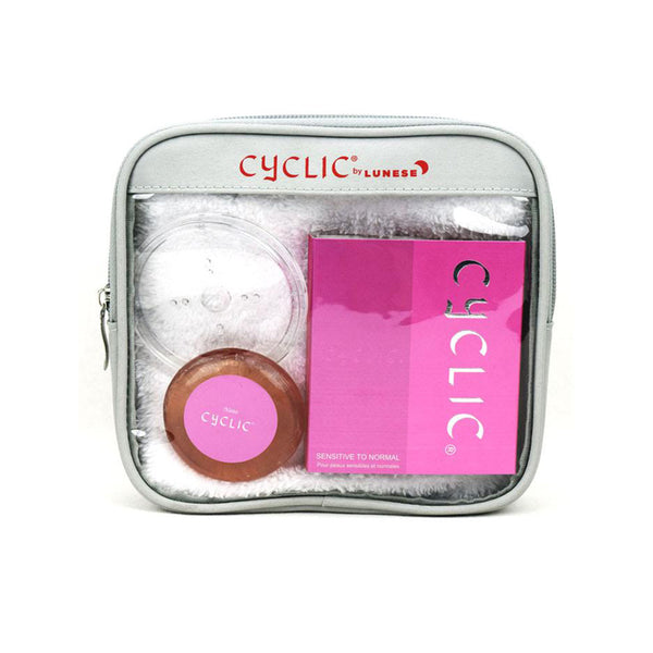 Nano Silver Cyclic Normal to Sensitive Cleanser (Pink Travel Package)