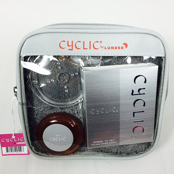Nano Silver Cyclic Oily to Normal Cleanser (Silver Travel Package)