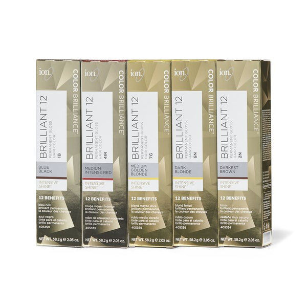Ion - Brilliant 12 Intense Neutrals Permanent Gloss Hair Color