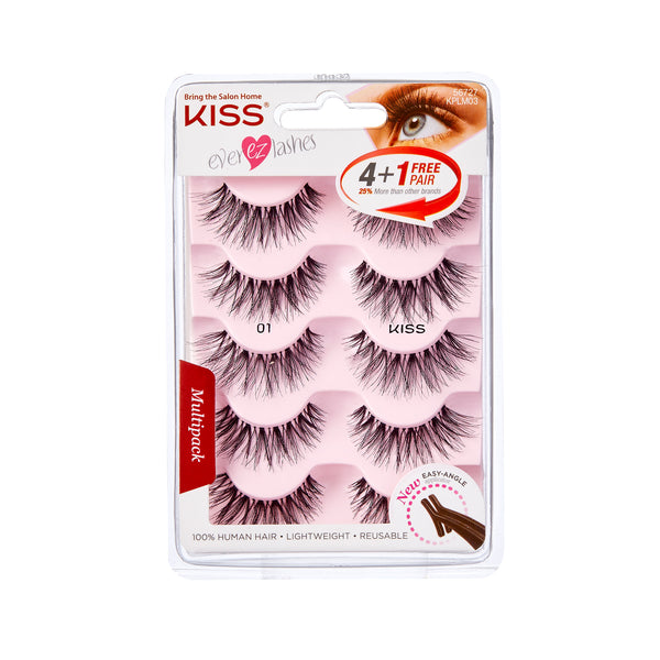 KISS - Ever Ez Lash Multipack - 01 (KPLM03)