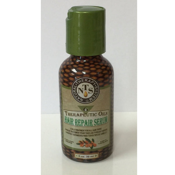 Natural Therapy System - Six Therapeutic Oils Hair Repair Serum