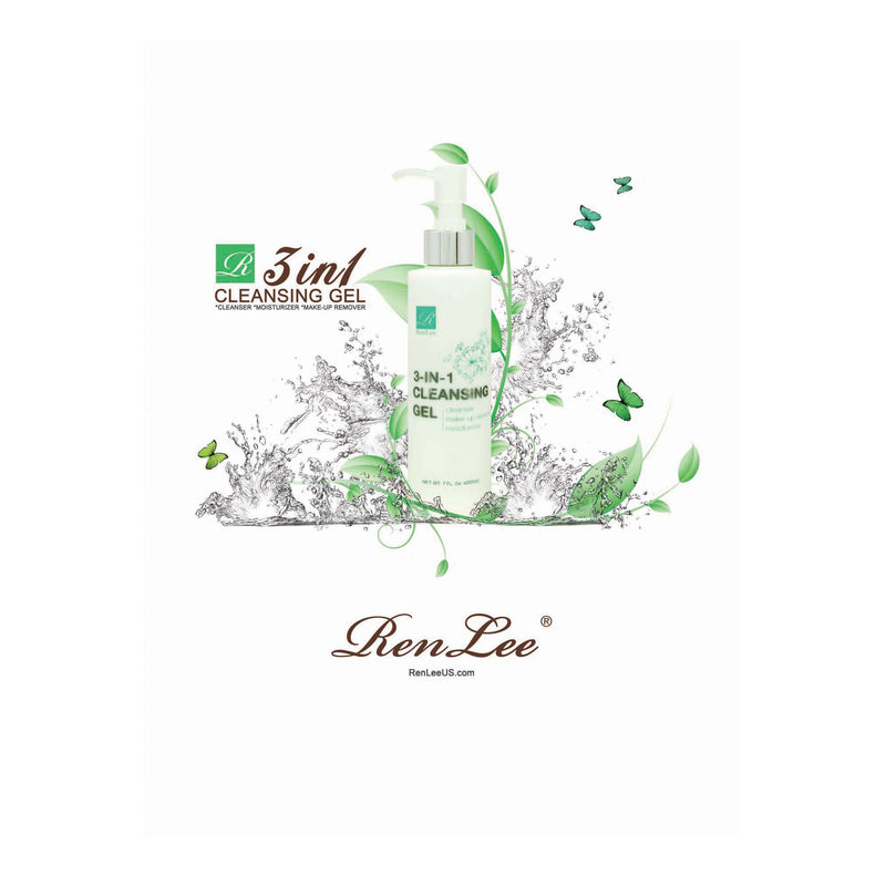 Renlee -  3 in 1 Cleansing Gel (R05)