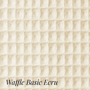Boca Terry -  Waffle Blanket for SPA-Twin Size (Ecru Color)