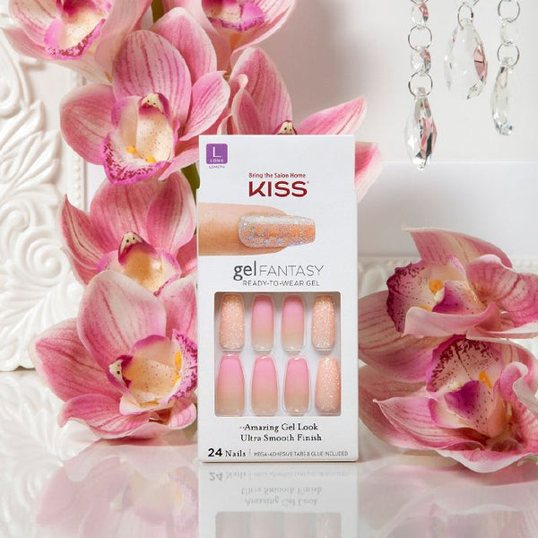 KISS - Gel Fantasy Nail -  Freshen Up (KGN05)