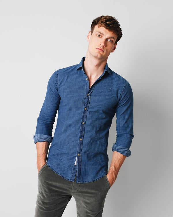 POINTS K.SHIRT INDIGO