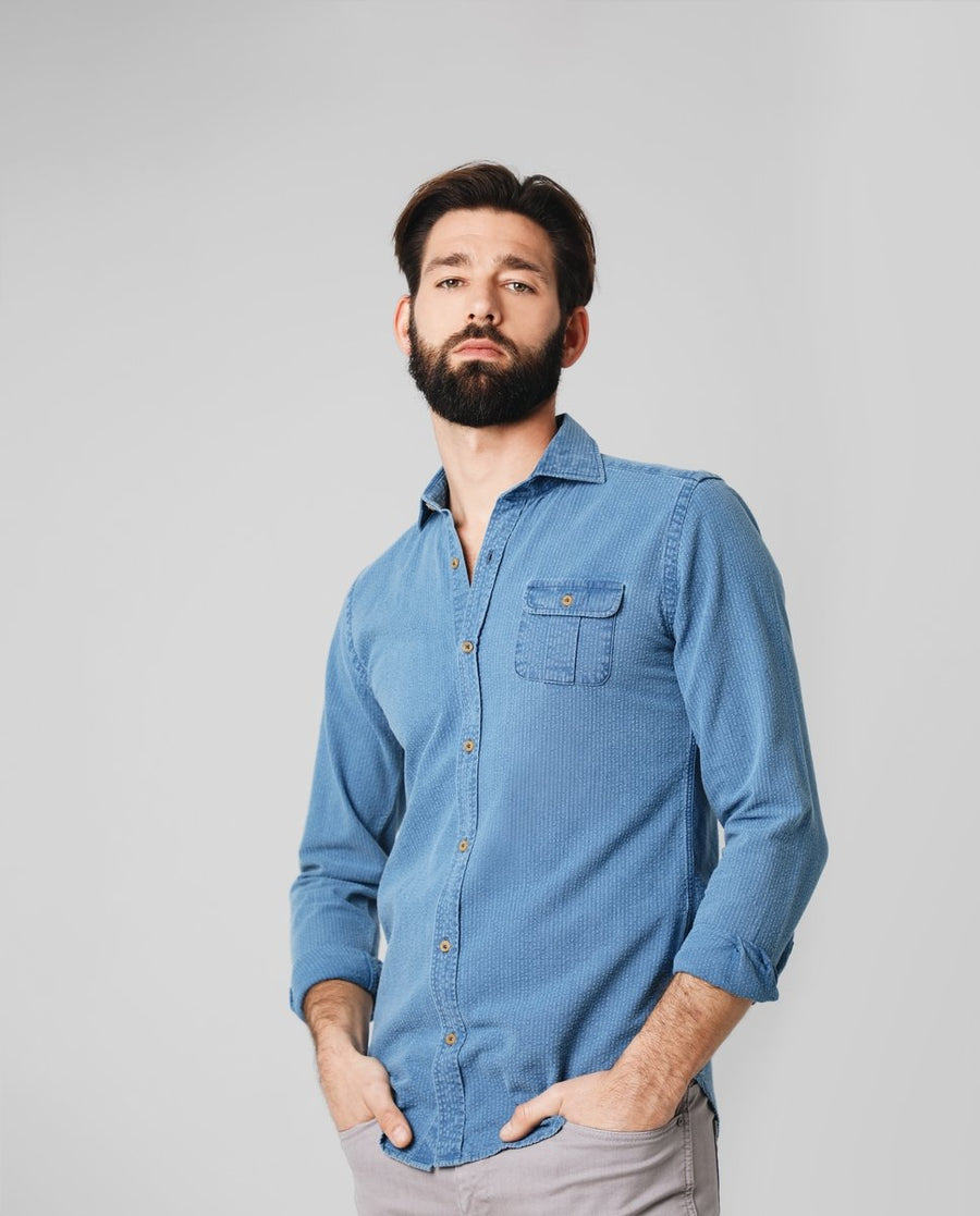 COSMO K DENIM SHIRT