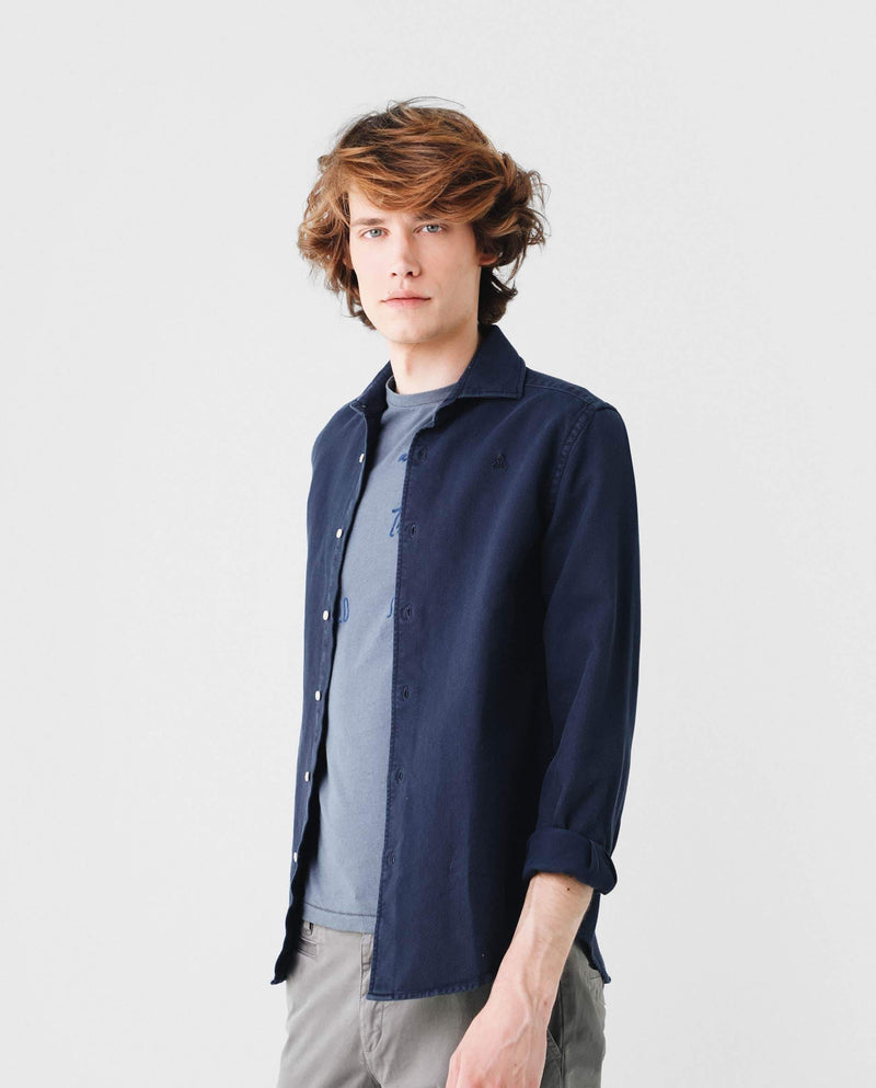 CAMISA GARMENT DYE REGULAR FIT