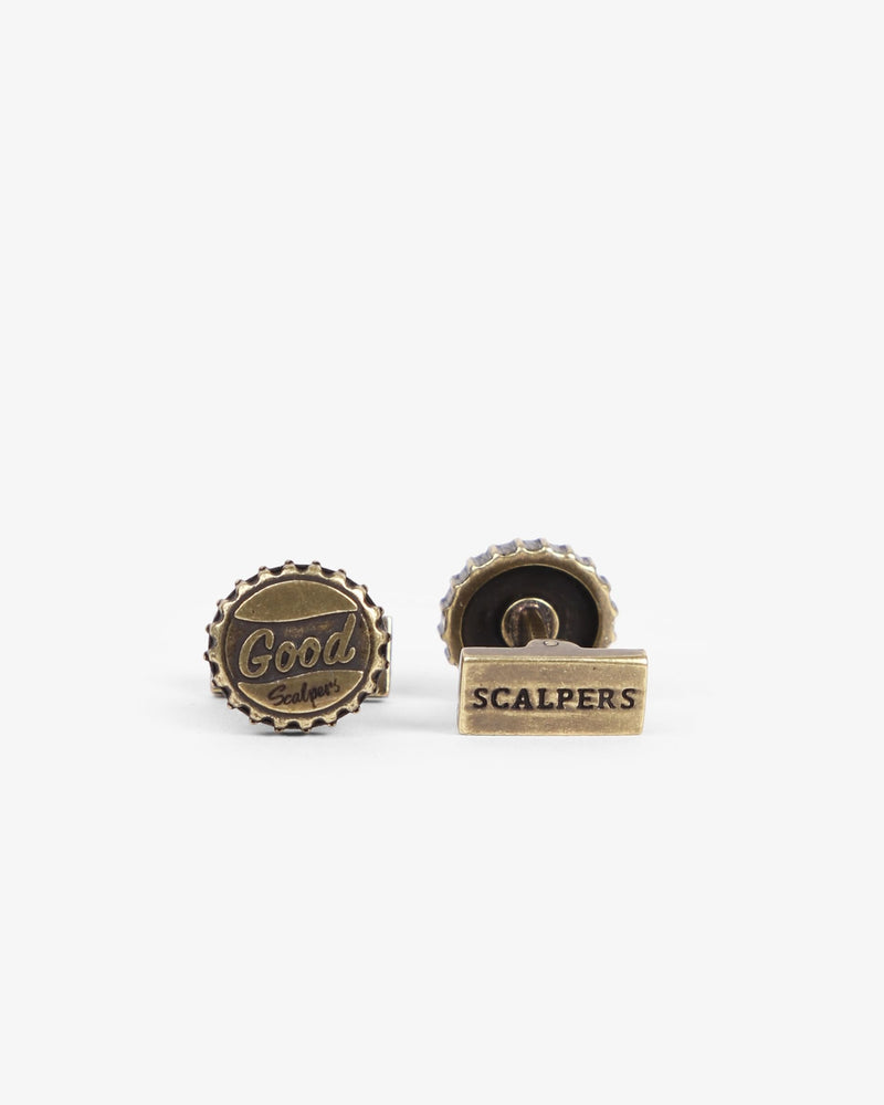 BOTTLE CAP CUFFLINK - Scalpers Company