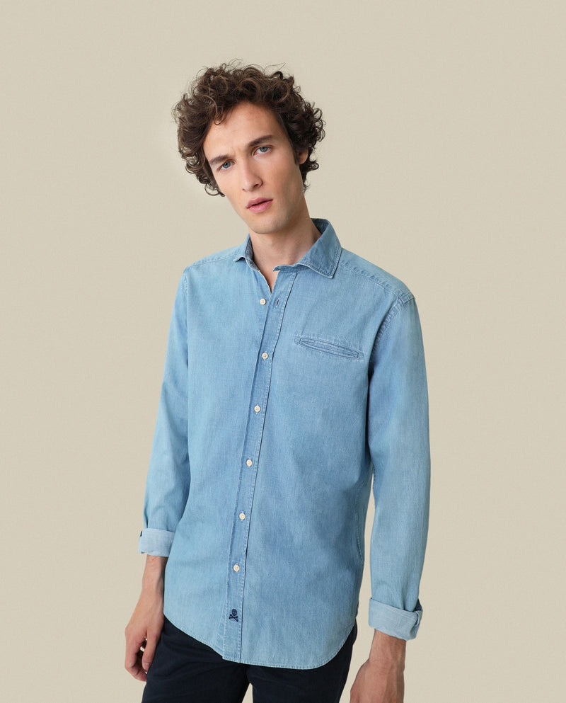 CAMISA DENIM KONIKA REGULAR FIT