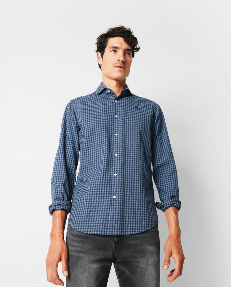 CAMISA CUADROS MINI REGULAR