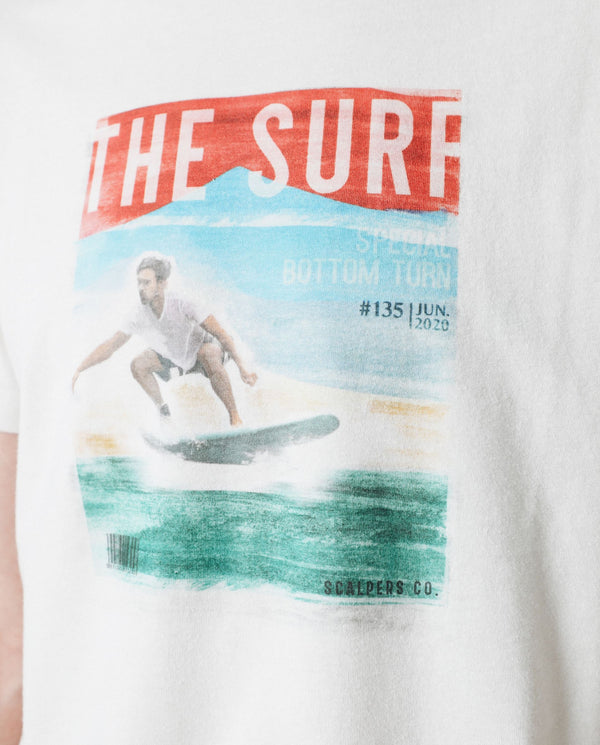 CAMISETA ECO PRINT SURF