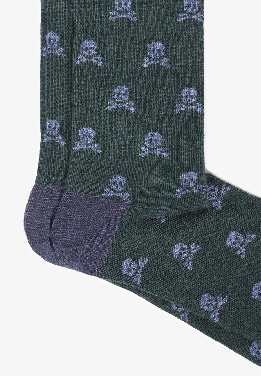 CALCETINES CALAVERAS ALL OVER