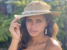 Load image into Gallery viewer, Mauna Kea White Shell Earrings
