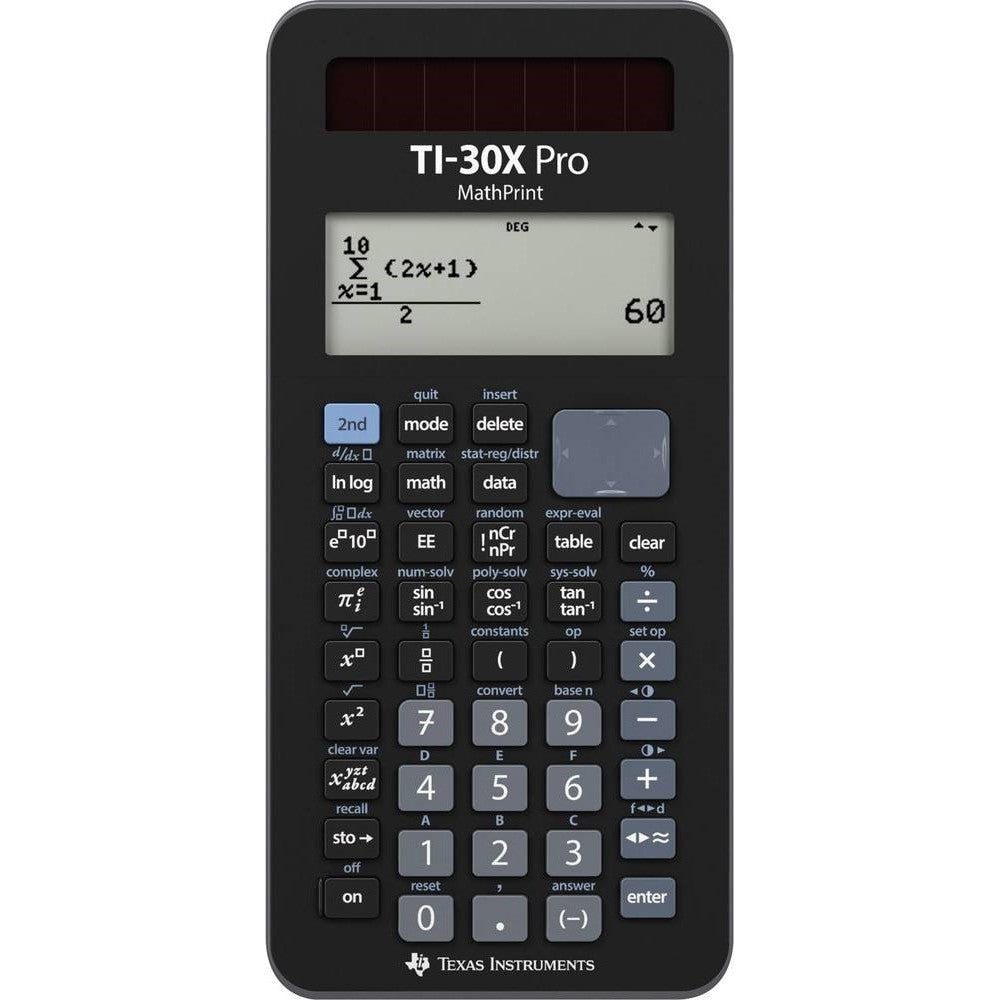Texas TI-30X Pro matematisk lommeregner (Texas Instruments)