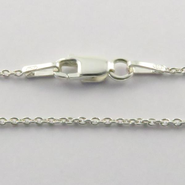 Silver Rolo Chains - (Oval) 1.2mm Wide 45cm