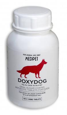 DOXYDOG 100MG (100) (RED)