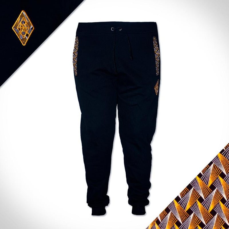 sweat pants joggers africa made only shweshwe fleece