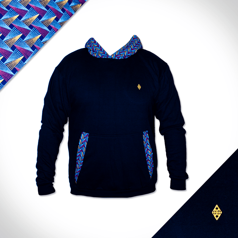 Royal Weave Hoodie Africa Made Only