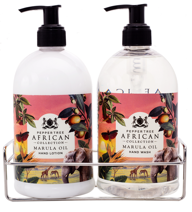 Marula caddy Hand Wash + Lotion