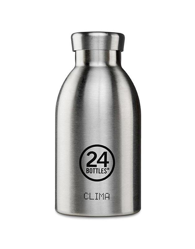 24 Bottles Clima Insulated Bottle 330ml Steel