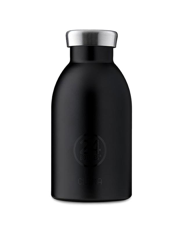 24 Bottles Clima Insulated Bottle 330ml Tuxedo Black