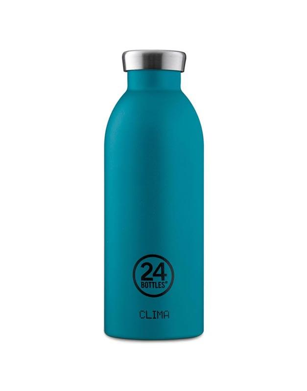 24 Bottles Clima Insulated Bottle 500ml Atlantic Bay Stone