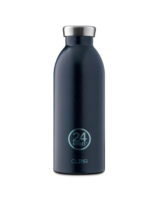 24 Bottles Clima Insulated Bottle 500ml Deep Blue