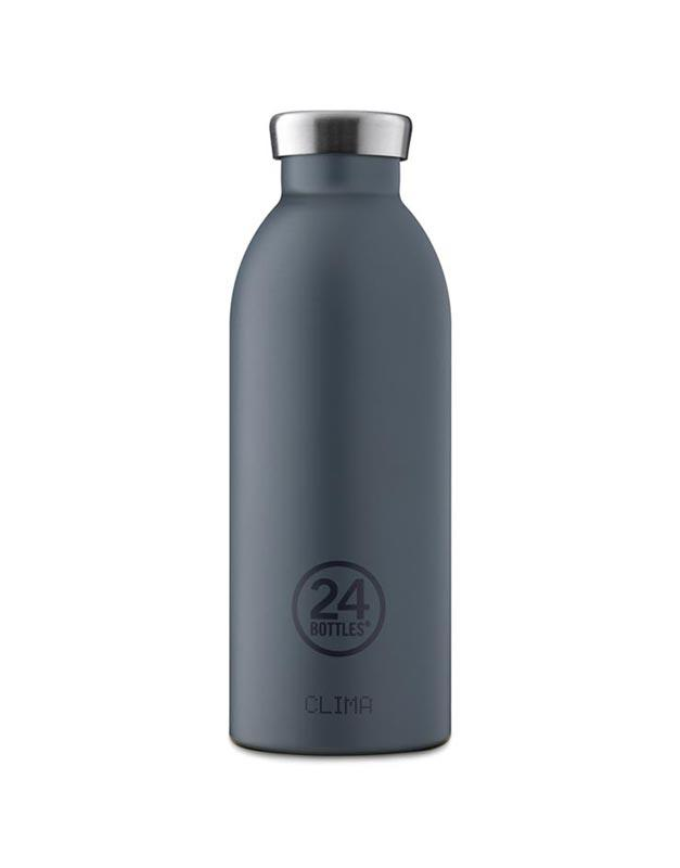 24 Bottles Clima Insulated Bottle 500ml Formal Grey