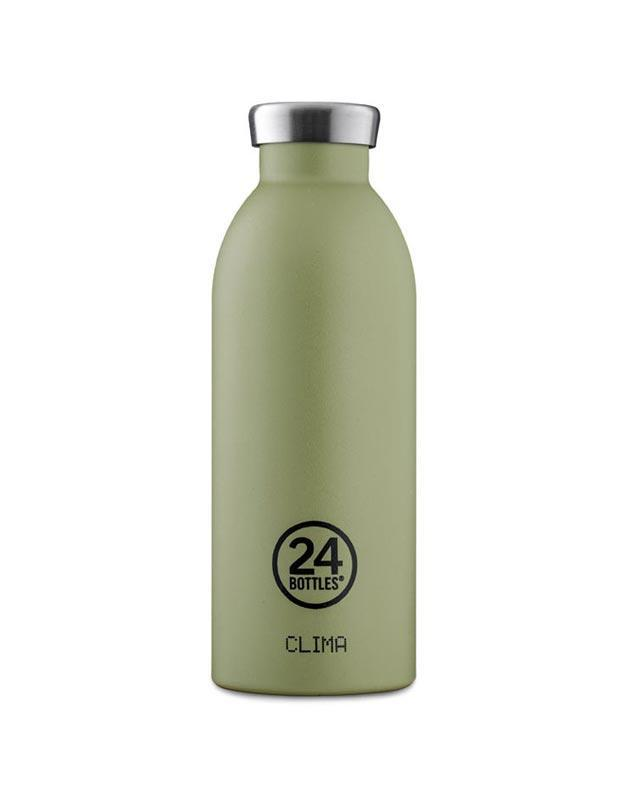 24 Bottles Clima Insulated Bottle 500ml Sage Stone