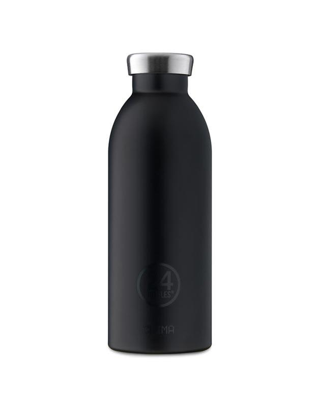 24 Bottles Clima Insulated Bottle 500ml Tuxedo Black