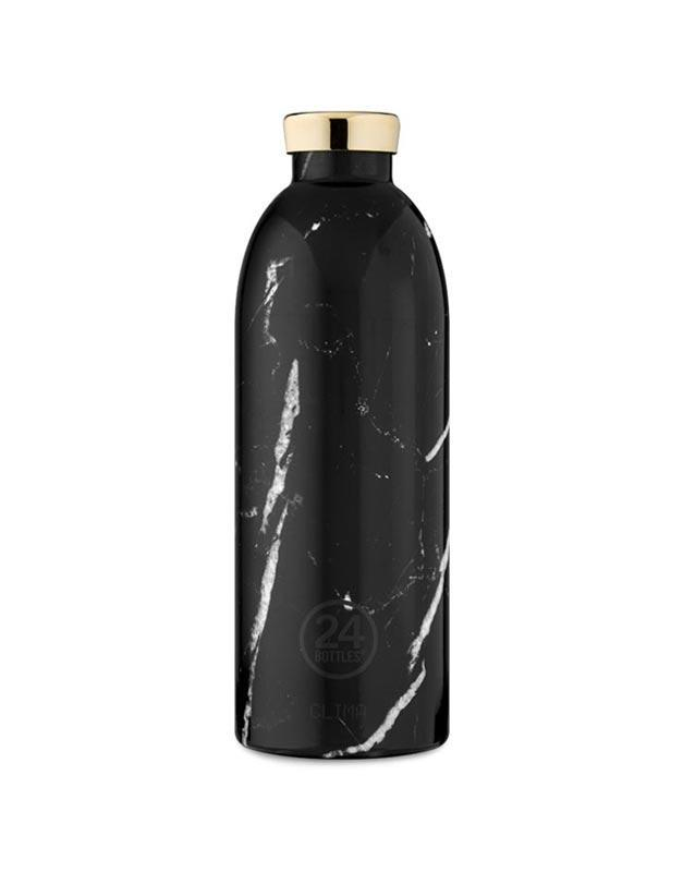 24 Bottles Clima Insulated Bottle 850ml Black Marble