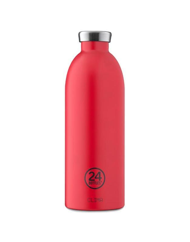 24 Bottles Clima Insulated Bottle 850ml Hot Red