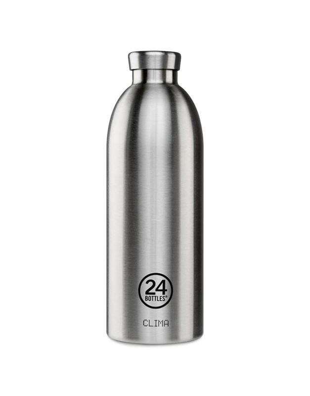 24 Bottles Clima Insulated Bottle 850ml Steel