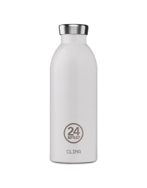 24 Bottles Clima Insulated Bottle 500ml Arctic White