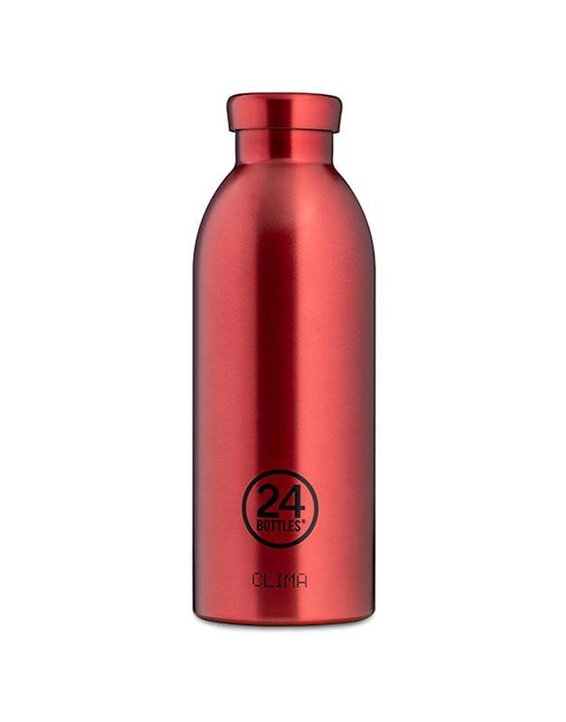 24 Bottles Clima Insulated Bottle 500ml Chianti Red