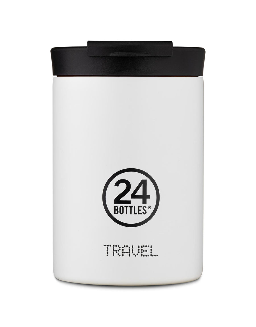 24 Bottles Travel Tumbler 350ml Ice White