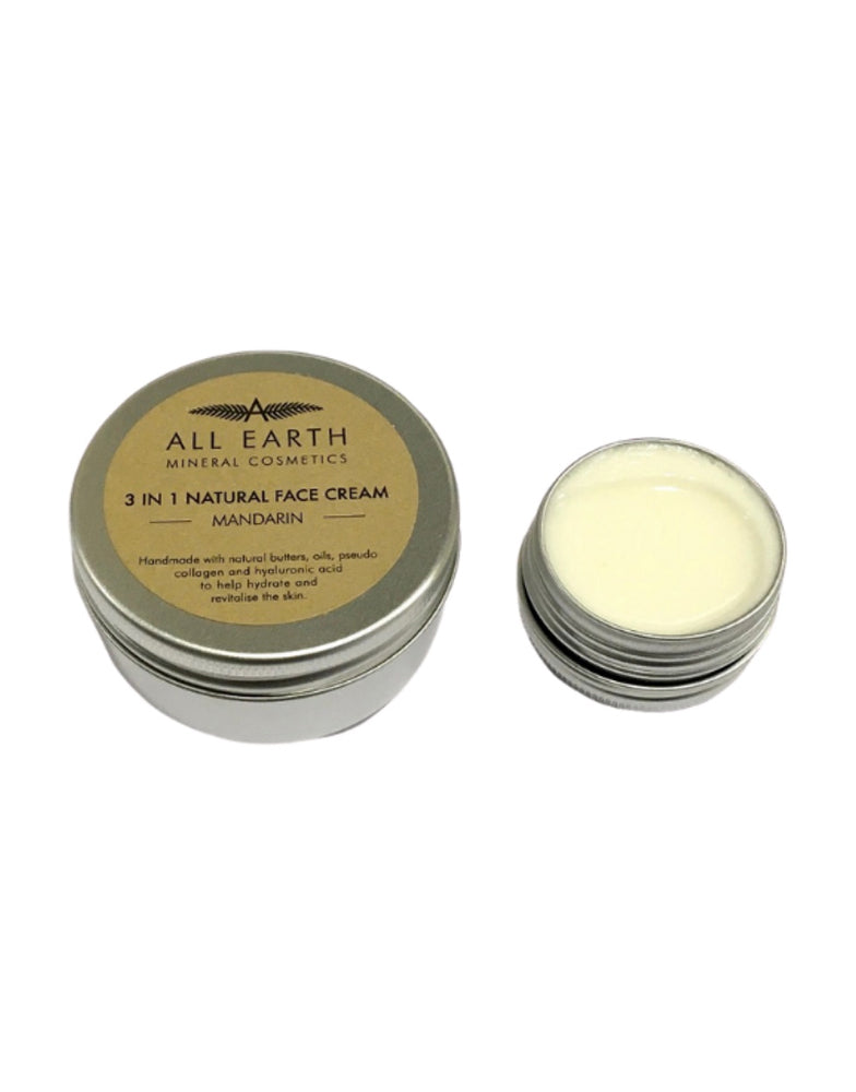 All Earth Mineral Cosmetics 3 in 1 Face Cream Mandarin