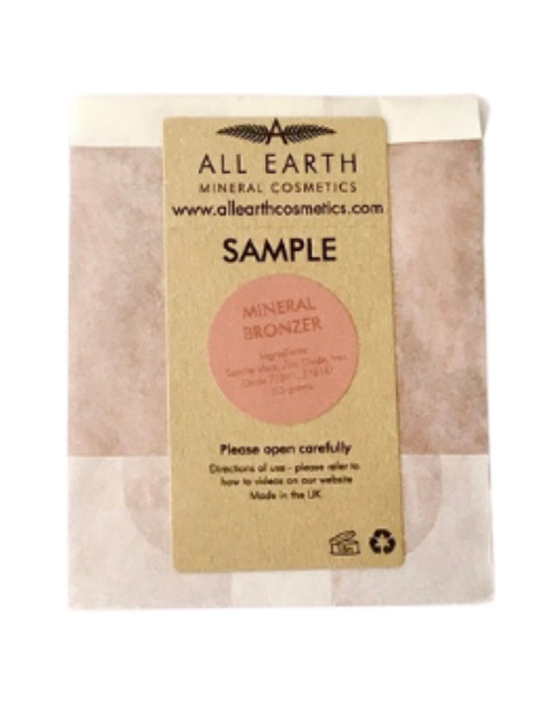 All Earth Mineral Cosmetics Bronzer Sample