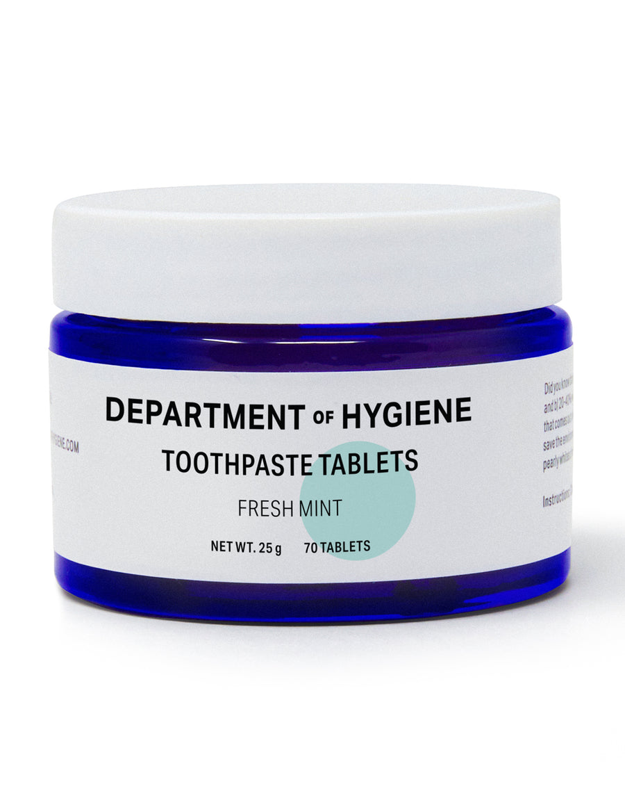 Department of Hygiene Toothpaste Tablets