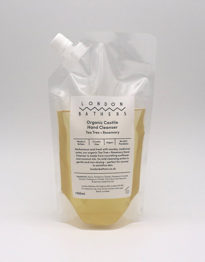 London Bathers Organic Hand Wash Refills 500ml