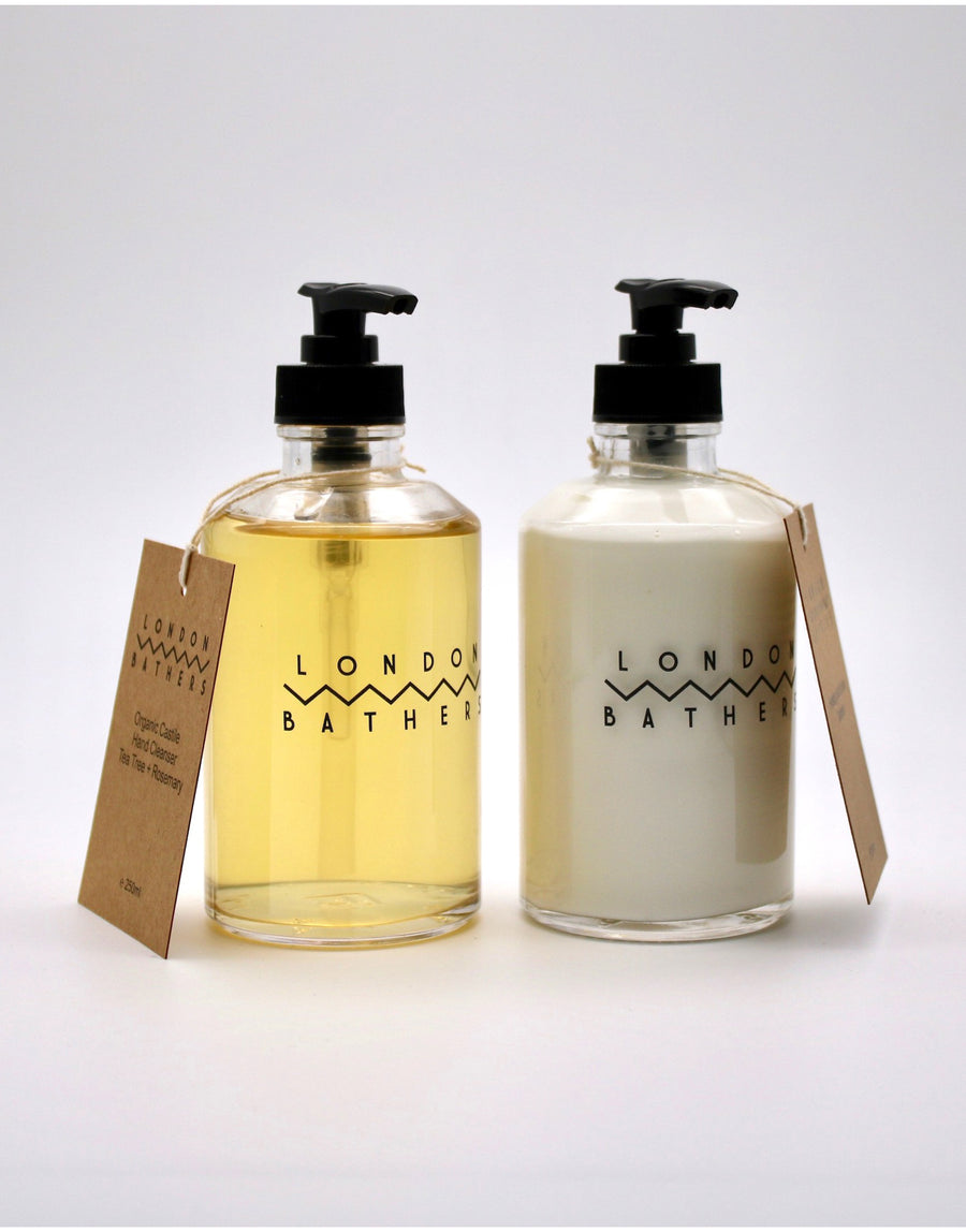 London Bathers Hand Wash & Hand Lotion Set