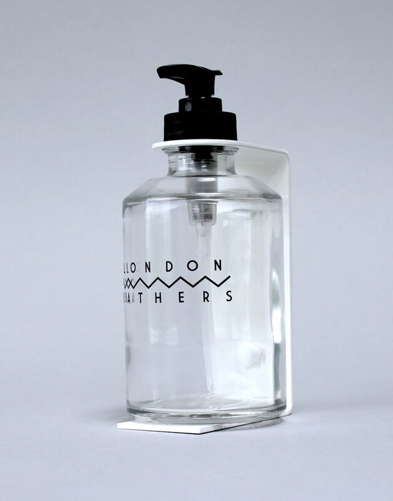 London Bathers Wall Bracket & Bottle