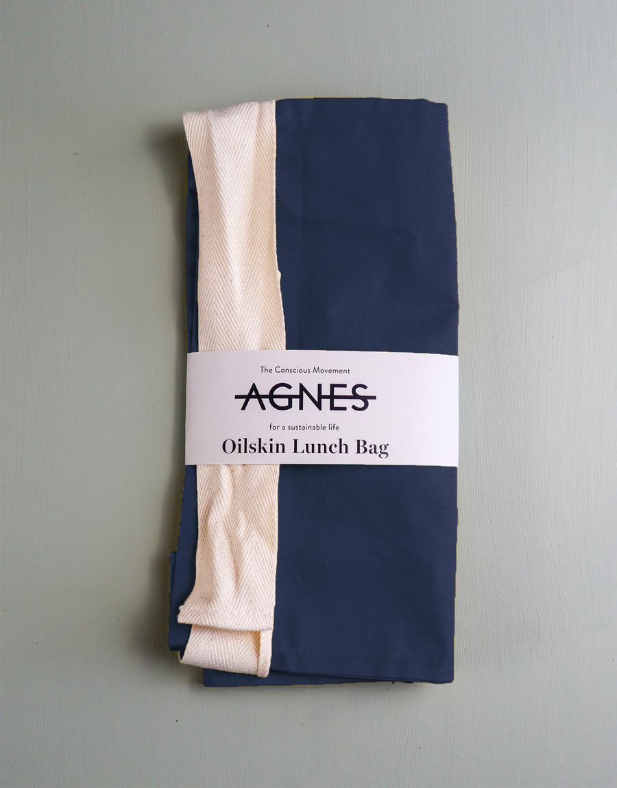 Agnes LDN Oilskin Lunch Bag