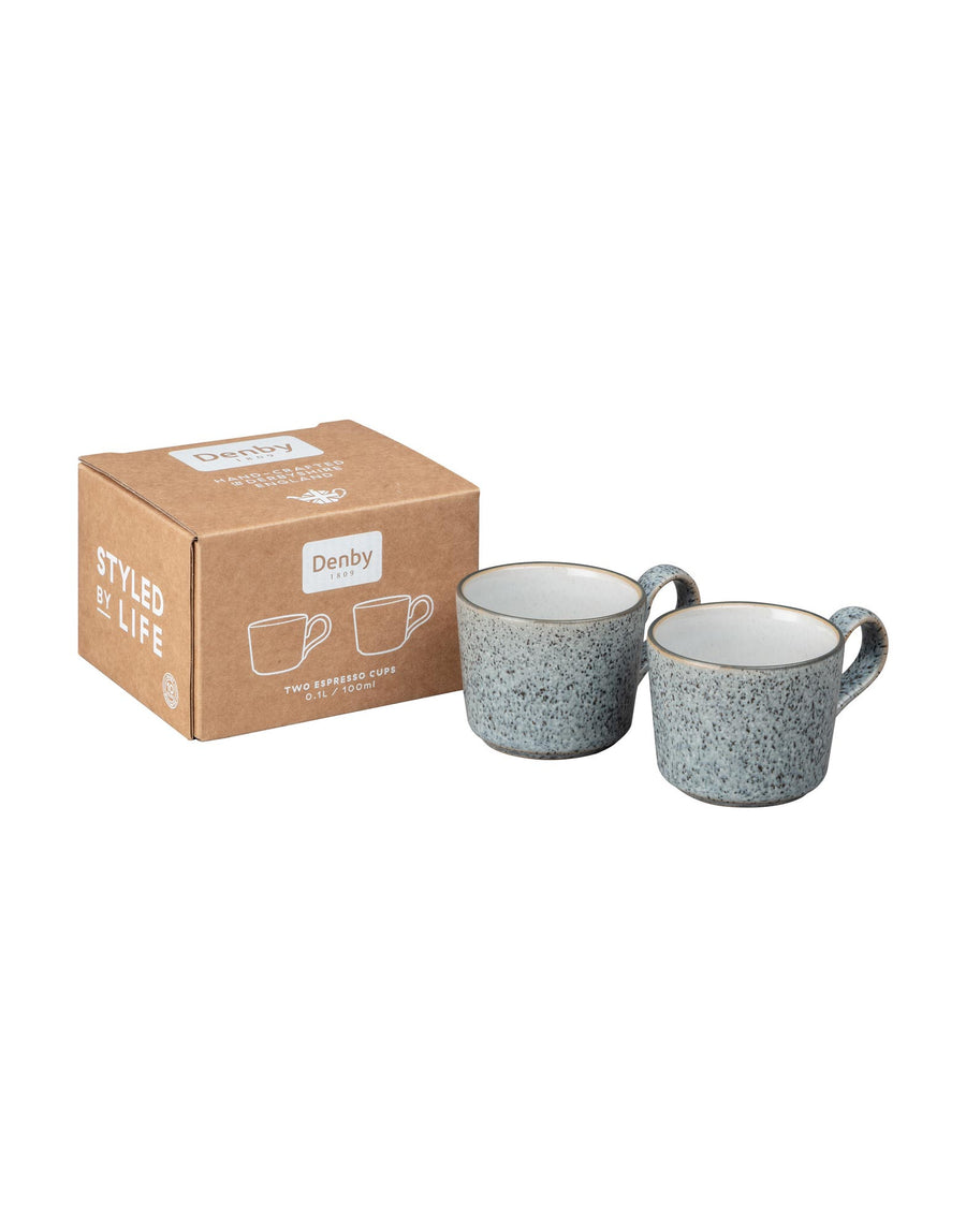 Denby Studio Grey Brew Espresso Cup Set of 2